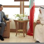 الرئيس الأسد يعقد أجتماعاً مع أمير دولة الكويت في ختام زيارته إلى سورية - 17.05.2010
