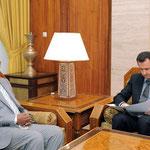 الرئيس الأسد يتسلم رسالة خطية من الرئيس السوداني - 12.01.2011