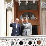 الرئيس الأسد يجري مباحثات مع رئيس الوزراء التركي رجب طيب أردوغان - 09.05.2010