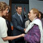 السيد الرئيس بشار الأسد والسيدة عقيلته يزوران المشفى السوري اللبناني في ساو باولو بالبرازيل - 01.07.2010