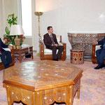 الرئيس الأسد يستقبل السيد هاني الملقي وزير الخارجية الأردني - 02.12.2004