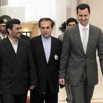 السيد الرئيس بشار الأسد يستقبل الرئيس الايراني أحمدي نجاد - 05.05.2009