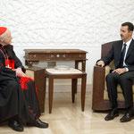 السيد الرئيس بشار الأسد يستقبل لكاردينال ثيودور ماكريك كاردينال واشنطن للروم الكاثوليك - 04.07.2004