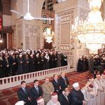 الرئيس الأسد يؤدي صلاة الظهر في جامع بني أمية الكبير ويشارك في الاحتفال بذكرى المولد النبوي - 15.02.2011