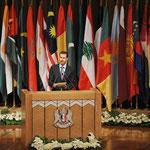 السيد الرئيس بشار الأسد يفتتح الدورة السادسة والثلاثين لمجلس وزراء خارجية الدول الإسلامية في دمشق - 23.05.2009