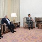 الرئيس الاسد يستقبل الامير سعود الفيصل وزير خارجية المملكة العربية السعودية