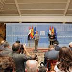 مؤتمر صحفي مشترك للرئيس الأسد مع رئيس الوزراء الإسباني ثاباتيرو - 05.07.2010