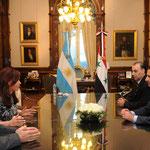 الرئيس الأسد يجري مباحثات مع الرئيسة الأرجنتينية دي كيرشنر - 02.07.2010