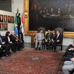 السيد الرئيس بشار الأسد يلتقي رئيس مجلس الشيوخ البرازيلي - 01.07.2010