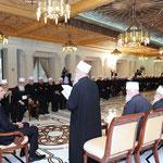 الرئيس الأسد يلتقي وفدا من رجال الدين من طائفة الموحدين الدروز في لبنان - 08.12.2011