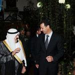 السيد الرئيس يقيم مأدبة عشاء على شرف خادم الحرمين الشريفين - 29.07.2010