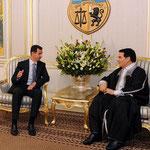 السيد الرئيس بشار الأسد يعقد جلسة مباحثات مع الرئيس التونسي زين العابدين بن علي - 12.07.2010