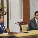 الرئيسان الأسد و ميدفيديف يعقدان موءتمرا صحفيا مشتركا - 11.05.2010