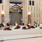 الرئيس الاسد يقيم مأدبة عشاء على شرف امير دولة الكويت - 16.05.2010