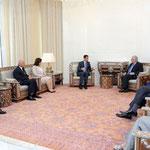 الرئيس الأسد يدعو الاتحاد الأوروبي إلى إطلاق مقاربات وسياسات جديدة تتناسب مع المتغيرات التي طرأت على المنطقة
