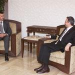 الرئيس الاسد يستقبل السيد أرسلان - 29.07.2003