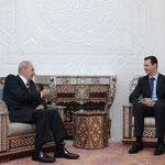 الرئيس الاسد يستقبل السيد نبيه بري رئيس مجلس النواب اللبناني - 07.02.2010