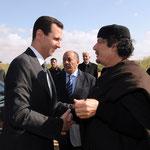 الرئيس الأسد يزور الجماهيرية الليبية - 24.10.2010
