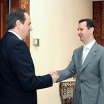 الرئيس الأسد يستقبل وزير خارجية التشيك - 17.02.2010