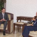 الرئيس الاسد يستقبل السيد نبيه بري - 29.07.2003