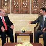 الرئيس الأسد يلتقي رئيس مجلس النواب العراقي والوفد البرلماني المرافق له - 23.02.2011