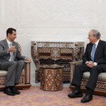 الرئيس الاسد يلتقى جورج ميتشل المبعوث الاميركى الخاص للشرق الاوسط - 20.01.2010