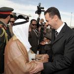 الرئيس الأسد يستقبل القادة العرب المشاركين في قمة دمشق العربية العشرين المنقدة في دمشق - 28.03.2008