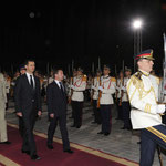 الرئيس الأسد يستقبل الرئيس الروسي ديميتري ميدفيديف الذي يقوم بزيارة رسمية لسورية - 10.05.2010
