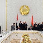 التوقيع على عدد من الاتفاقيات بين سورية وبيلاروس بحضور الرئيسان الأسد و لوكاشينكو - 26.07.2010