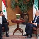 السيد الرئيس بشار الأسد يلتقي الرئيس اللبناني ميشال سليمان في قصر بعبدا - 30.07.2010