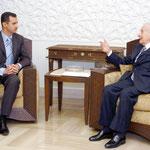 الرئيس بشار الاسد يستقبل النائب اللبناني السيد قبلان عيسى الخوري - 05.12.2004