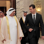 الرئيس الأسد يبحث مع حاكم إمارة عجمان تعزيز العلاقات الثنائية بين سورية والإمارات على المستويين السياسي والاقتصادي - 18.05.2010