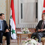 الرئيس الأسد يجري محادثات مع الرئيس التركي عبدالله غل في اسطنبول - 08.05.2010