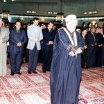 السيد الرئيس في صلاة العيد في مدينة دمشق