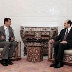 أمام الرئيس الاسد الصباغ يؤدي اليمين القانونية سفيرا لسورية لدى النمسا - 17.02.2010