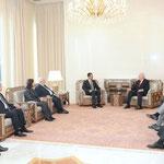 الرئيس الأسد يستقبل وزير الخارجية الاسباني - 03.02.2010