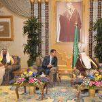 الرئيس الاسد والملك عبد الله يعقدان جلسة مباحثات فى الرياض - 13.01.2010