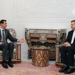 الرئيس الأسد يتسلم رسالة من الرئيس الإيراني تتعلق بتعزيز العلاقات الثنائية - 08.02.2011