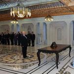 أمام السيد الرئيس بشار الأسد الدكتور إسماعيل إسماعيل يؤدي اليمين الدستورية وزيرا للمالية - 12.02.2013