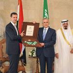 الرئيسان الأسد وسليمان يتبادلان منح الأوسمة - 30.07.2010