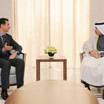 الرئيس الأسد يتقبل أوراق اعتماد السفير القطري لدى سورية - 20.02.2011