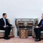 الرئيس الأسد يستقبل وزير الخارجية الألماني غيدو فيستر فيللي - 23.05.2010
