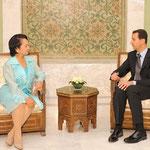 السيد الرئيس بشار الأسد يستقبل السيدة غلوريا ماكاباغال أرويو رئيسة جمهورية الفلبين - 04.05.2009