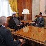الرئيس الأسد يتسلم رسالة من رئيس الوزراء العراقي تتعلق بالعلاقات الثنائية بين البلدين الشقيقين - 03.04.2011