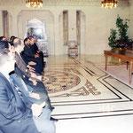 الرئيس بشار الأسد يستقبل أعضاء مؤتمر الطلبة العرب المقام في دمشق - 13.03.2003