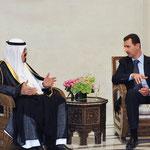 الرئيس الأسد يعقد جلسة مباحثات مع خادم الحرمين الشريفين - 29.07.2010