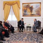 الرئيس الأسد يلتقي وزير خارجية إيران بالإنابة - 24.01.2011