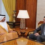 السيد الرئيس بشار الأسد يستقبل الشيخ عبد الله بن زايد آل نهيان وزير خارجية الإمارات العربية المتحدة - 02.05.2011