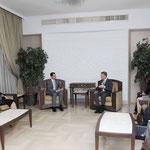 الرئيس الأسد يستقبل المفوض العام للأنروا - 23.02.2010