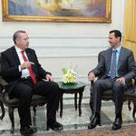 الرئيس الأسد يعقد جلسة محادثات مع أردوغان في حلب - 06.02.2011